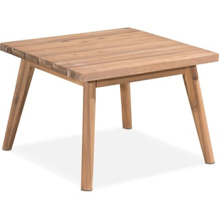 Peyton Outdoor End Table - Natural