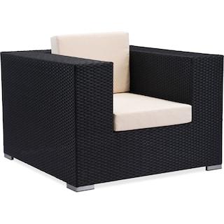 Wiley Outdoor Arm Chair - Espresso