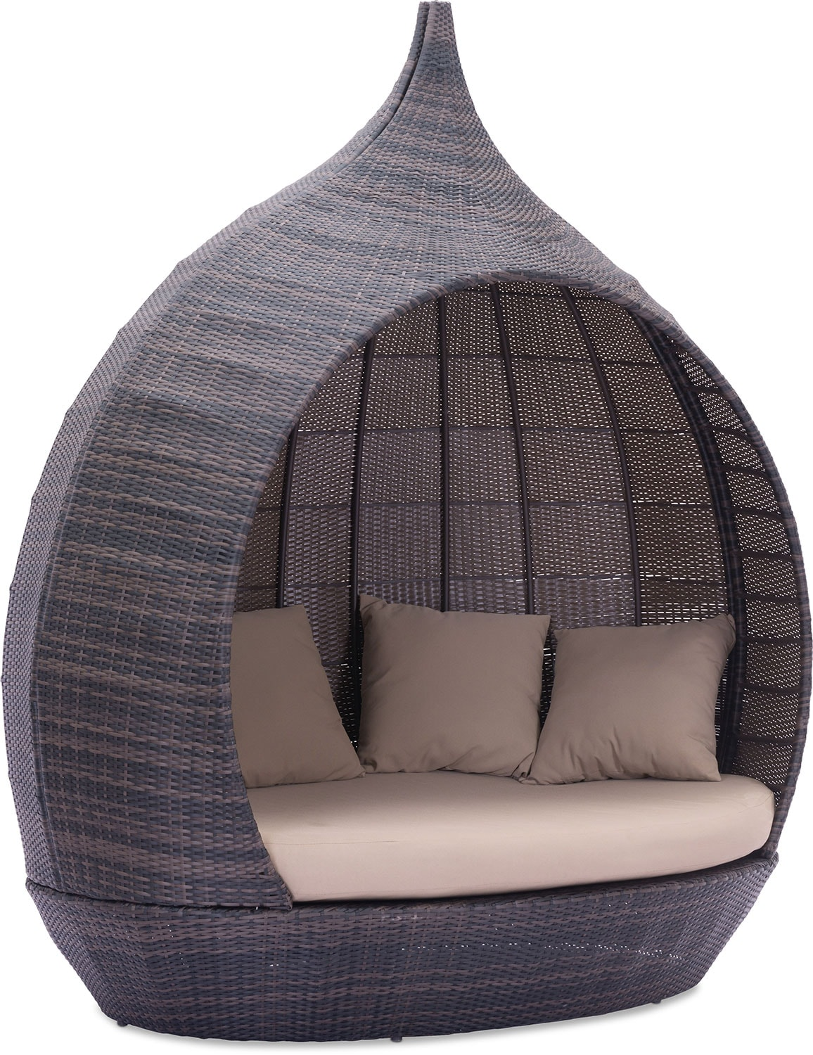 Renly Outdoor Daybed   Brown