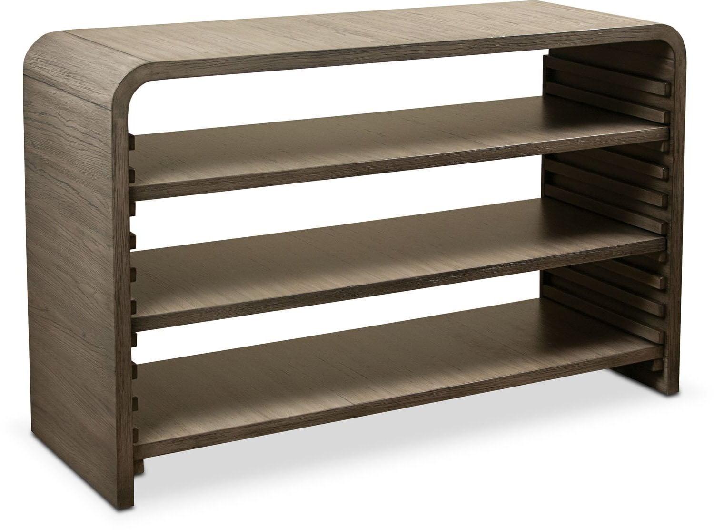 Malibu Sofa Table - Gray