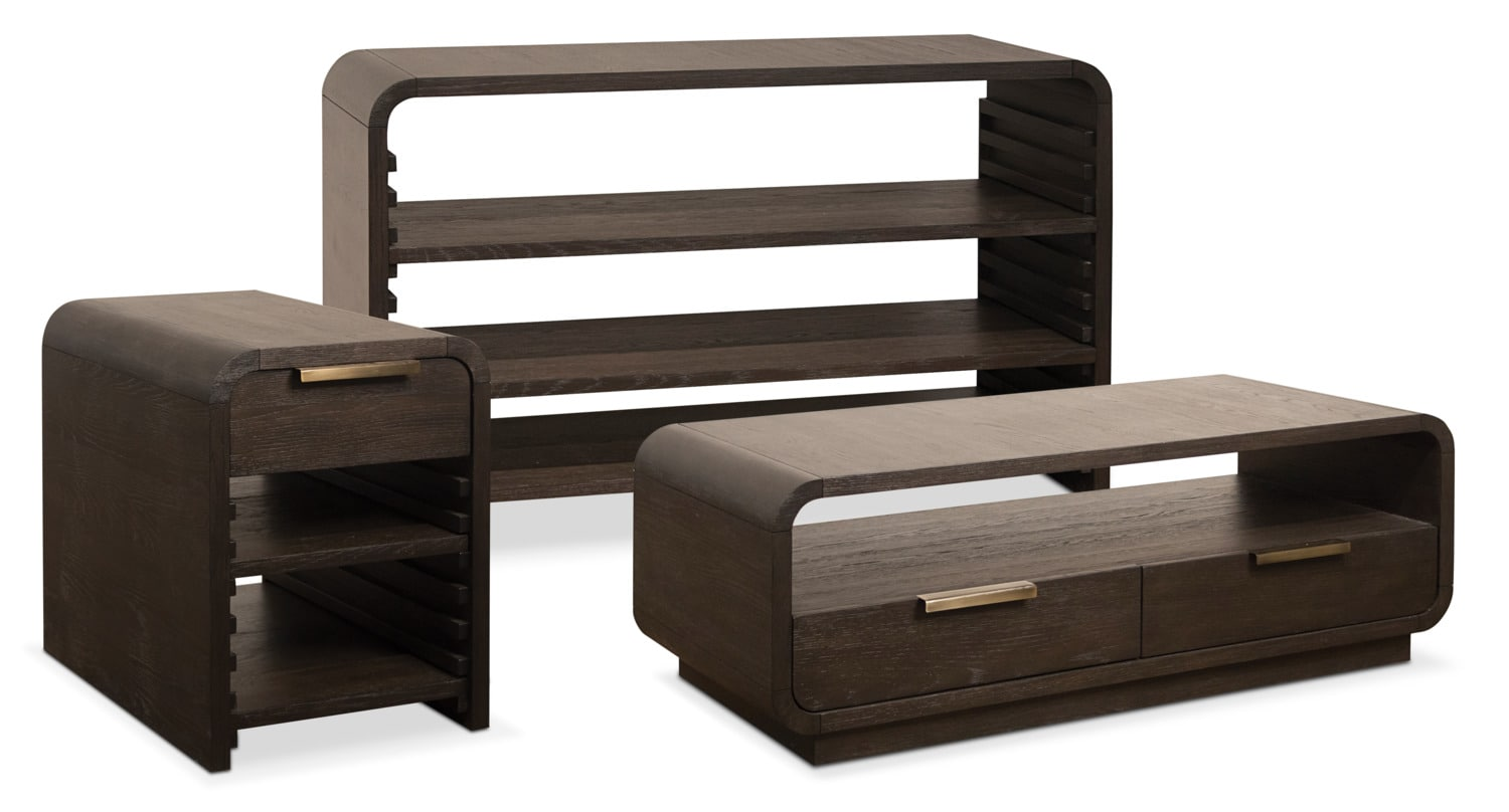 The Malibu Occasional Table Collection - Umber