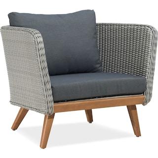 Peyton Outdoor Chair - Natural and Gray