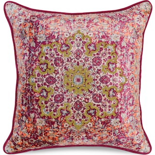 Emilie Decorative Pillow - Fuchsia
