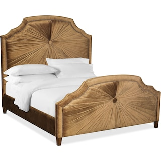 The Brittney Bedroom Collection - Bronze