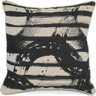 Crosby Decorative Pillow - Onyx