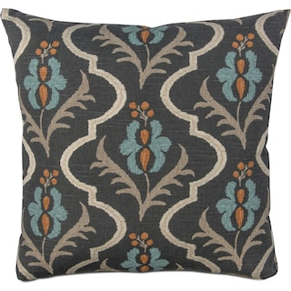 Floral Decorative Pillow - Multi
