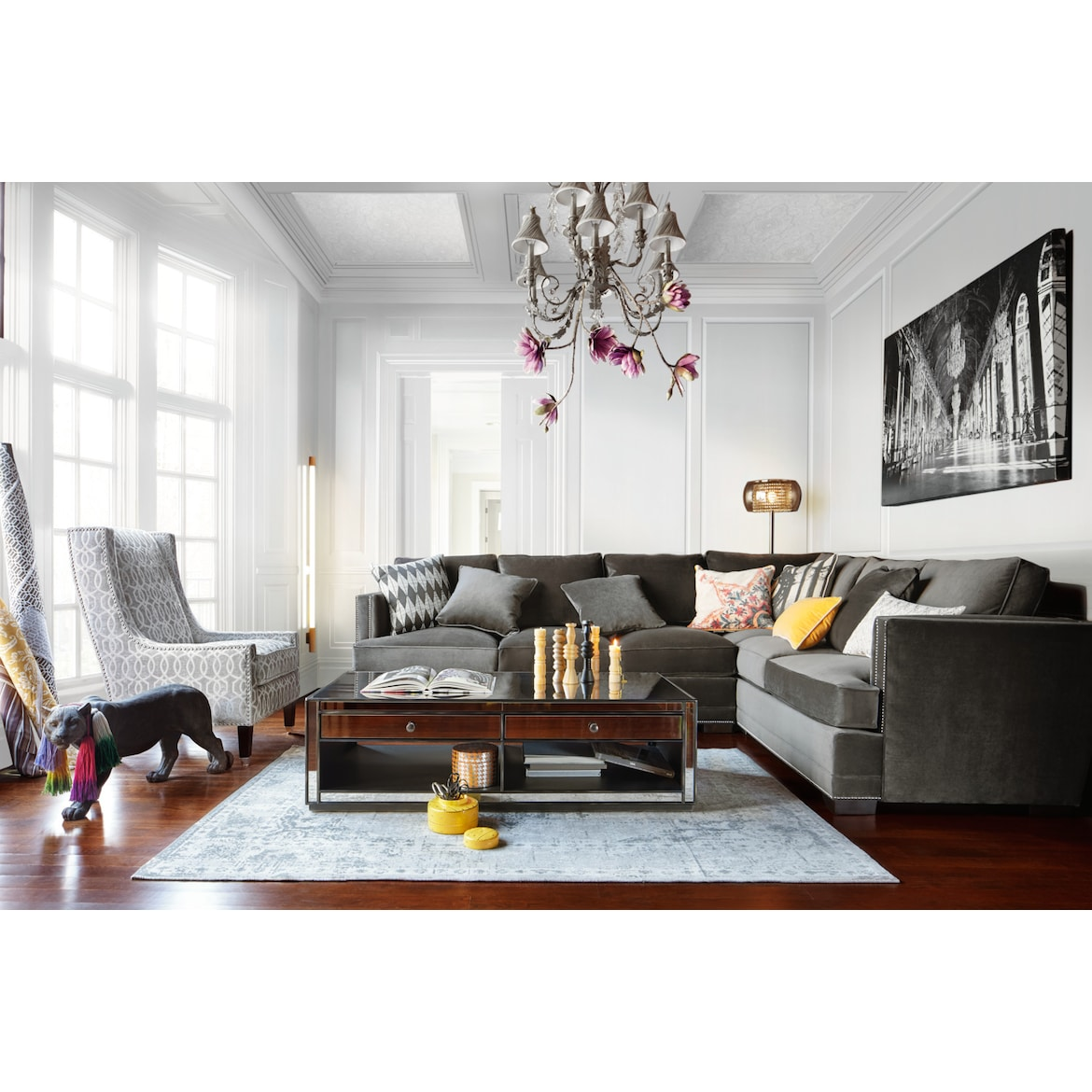 Arden 2 Piece Large Sectional