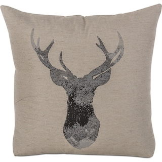 Buckhead Decorative Pillow - Natural