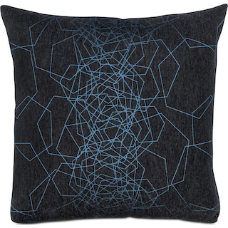 Dimensions Decorative Pillow - Blue