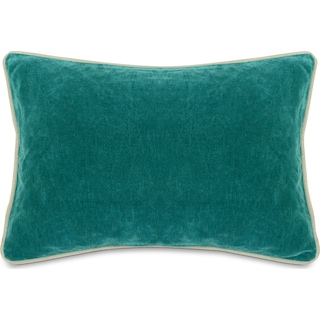 Velvet Decorative Pillow - Surf