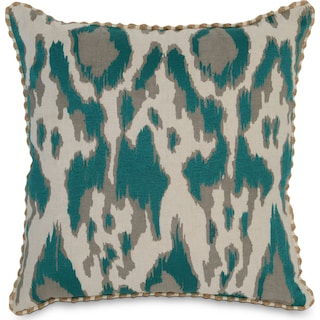 Chapala Decorative Pillow - Teal