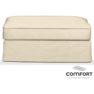 Allison Comfort Ottoman - Anders Cloud