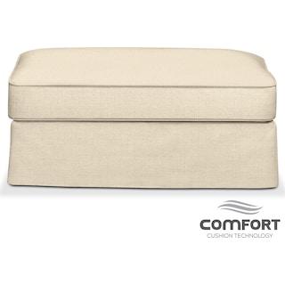 Allison Comfort Ottoman - Anders Cloud