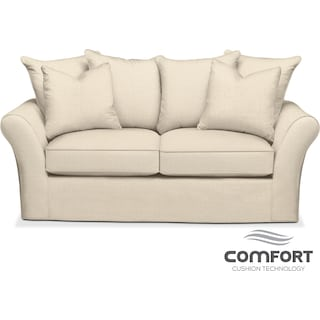 Allison Comfort Apartment Sofa - Cream