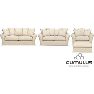 The Allison Cumulus Collection - Cream