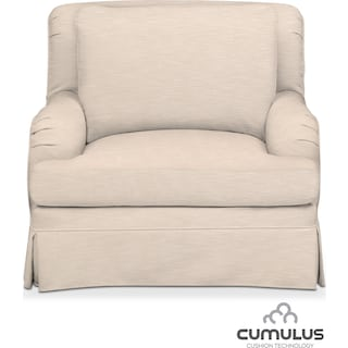 Campbell Cumulus Chair - Dudley Buff