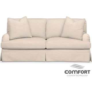 Campbell Comfort Apartment Sofa - Dudley Buff