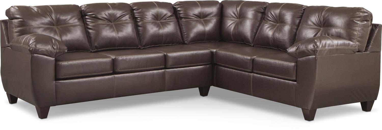 Living Room Furniture - Ricardo 2-Piece Sleeper Sectional