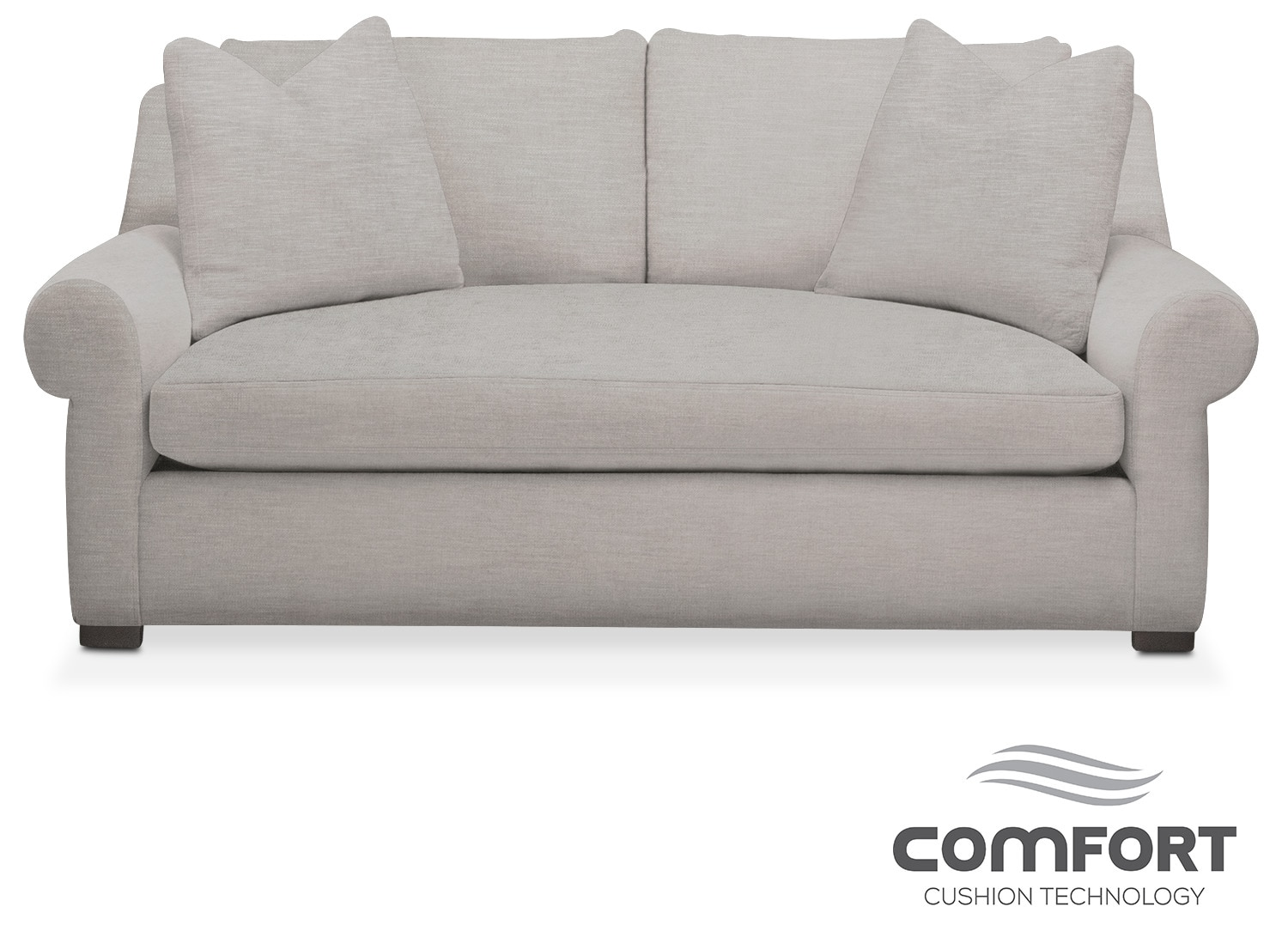 Living Room Furniture - Asher Comfort Apartment Sofa