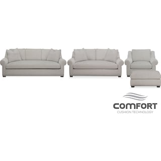The Asher Comfort Collection - Gray