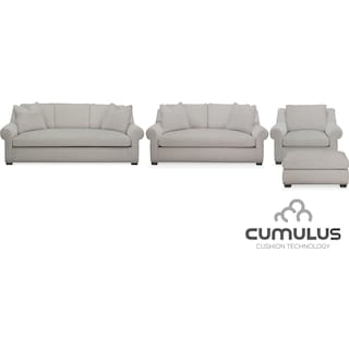 The Asher Cumulus Collection - Gray