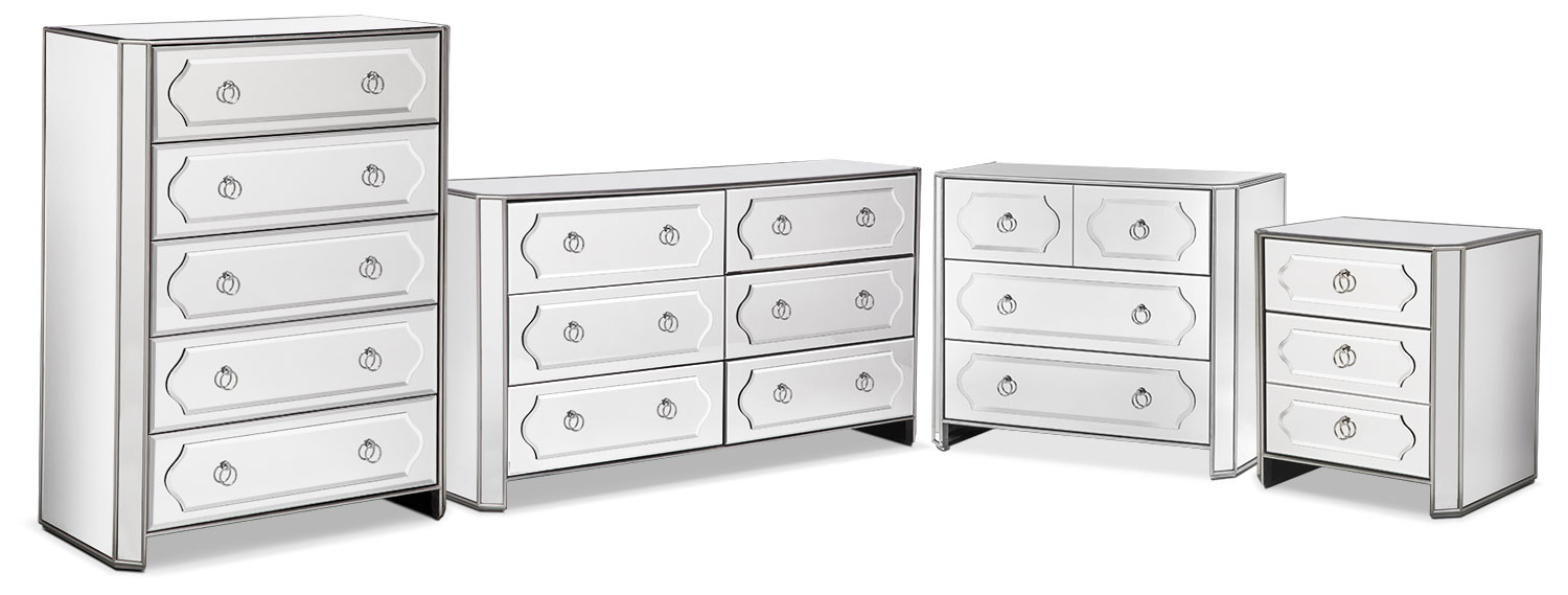 The Harlow Collection   Mirrored