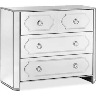 Harlow Hall Chest - Mirrored