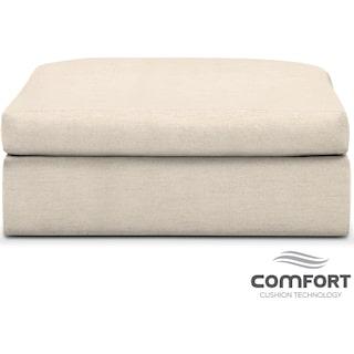 Collin Comfort Ottoman - Curious Pearl
