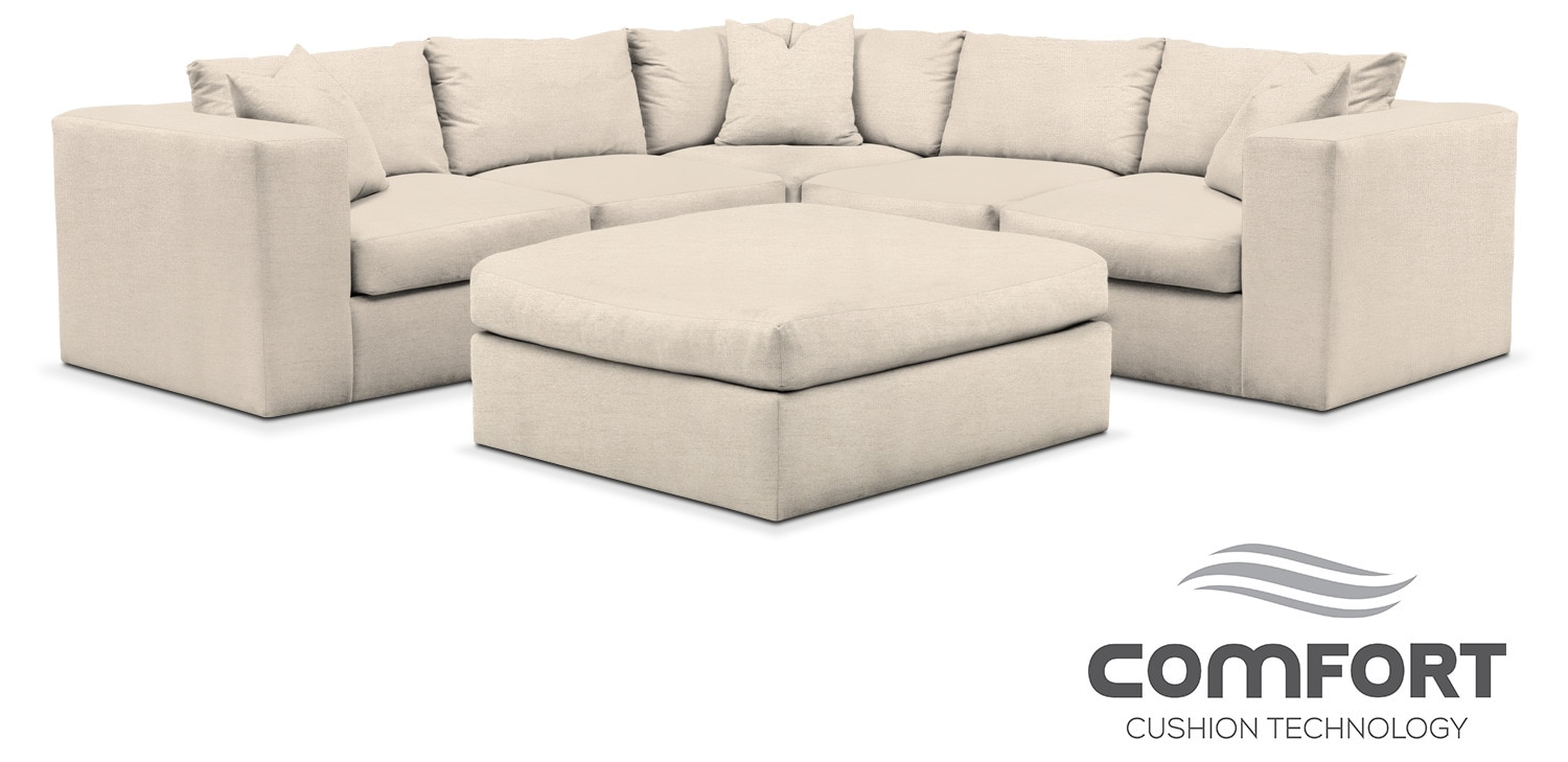 Collin Comfort 6 Piece Sectional
