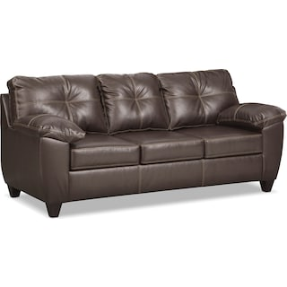 Ricardo Queen Innerspring Sleeper Sofa - Brown