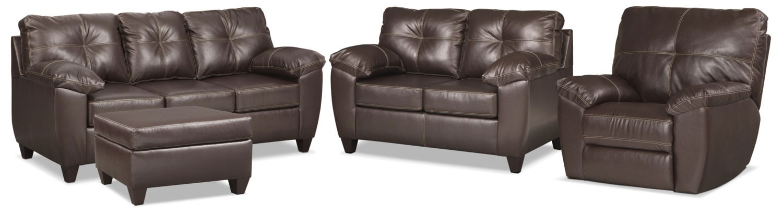 The Ricardo Living Room Collection - Brown