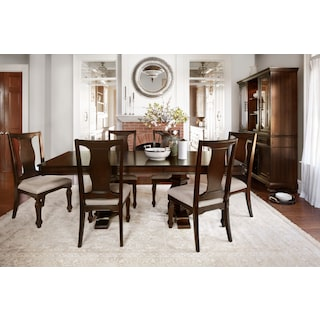 the vienna collection merlot - Dining Room Sets Value City Furniture