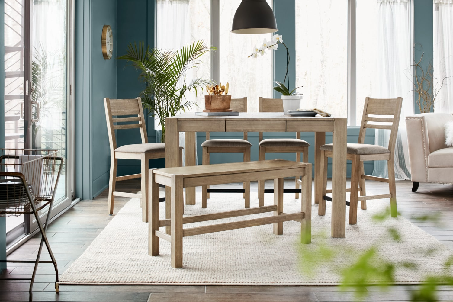 The Tribeca Counter-Height Dining Collection - Gray