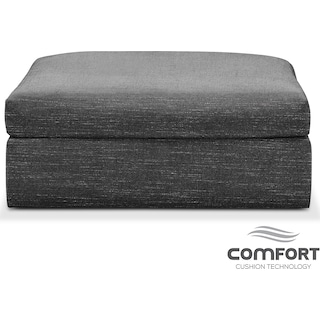 Collin Comfort Ottoman - Grey