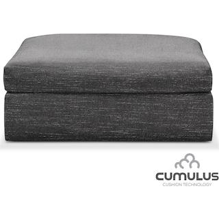 Collin Cumulus Ottoman - Gray