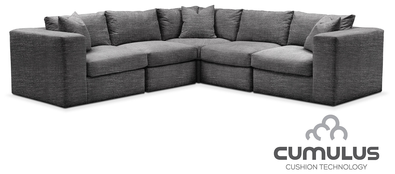 The Collin Cumulus Collection - Curious Charcoal