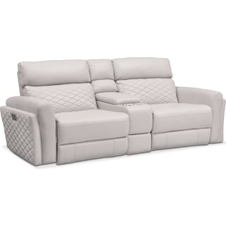 Catalina 2-Piece Dual-Power Reclining Sofa with Console
