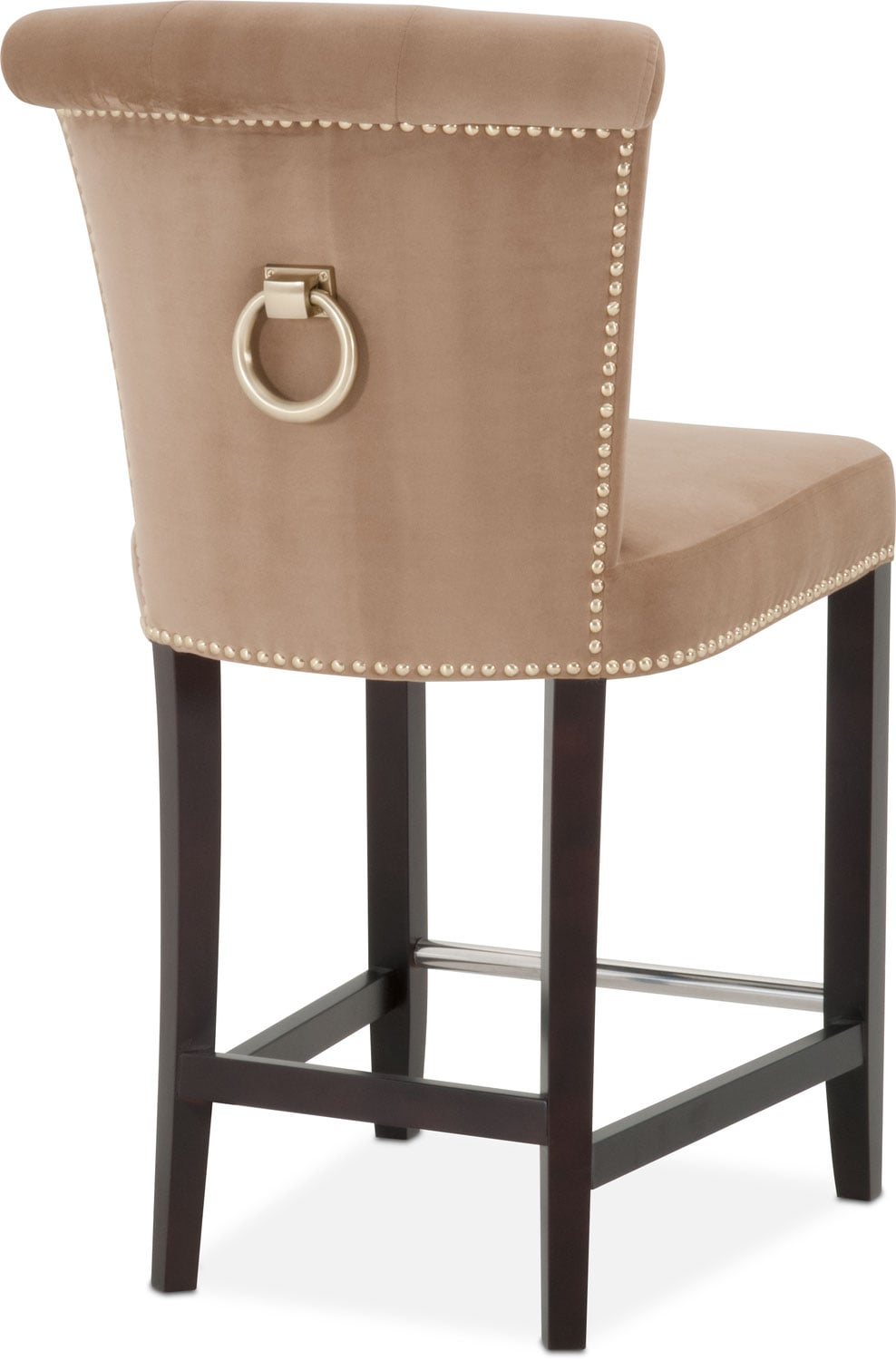 Calloway Counter Height Stool Camel Gold Value City Furniture And Mattresses