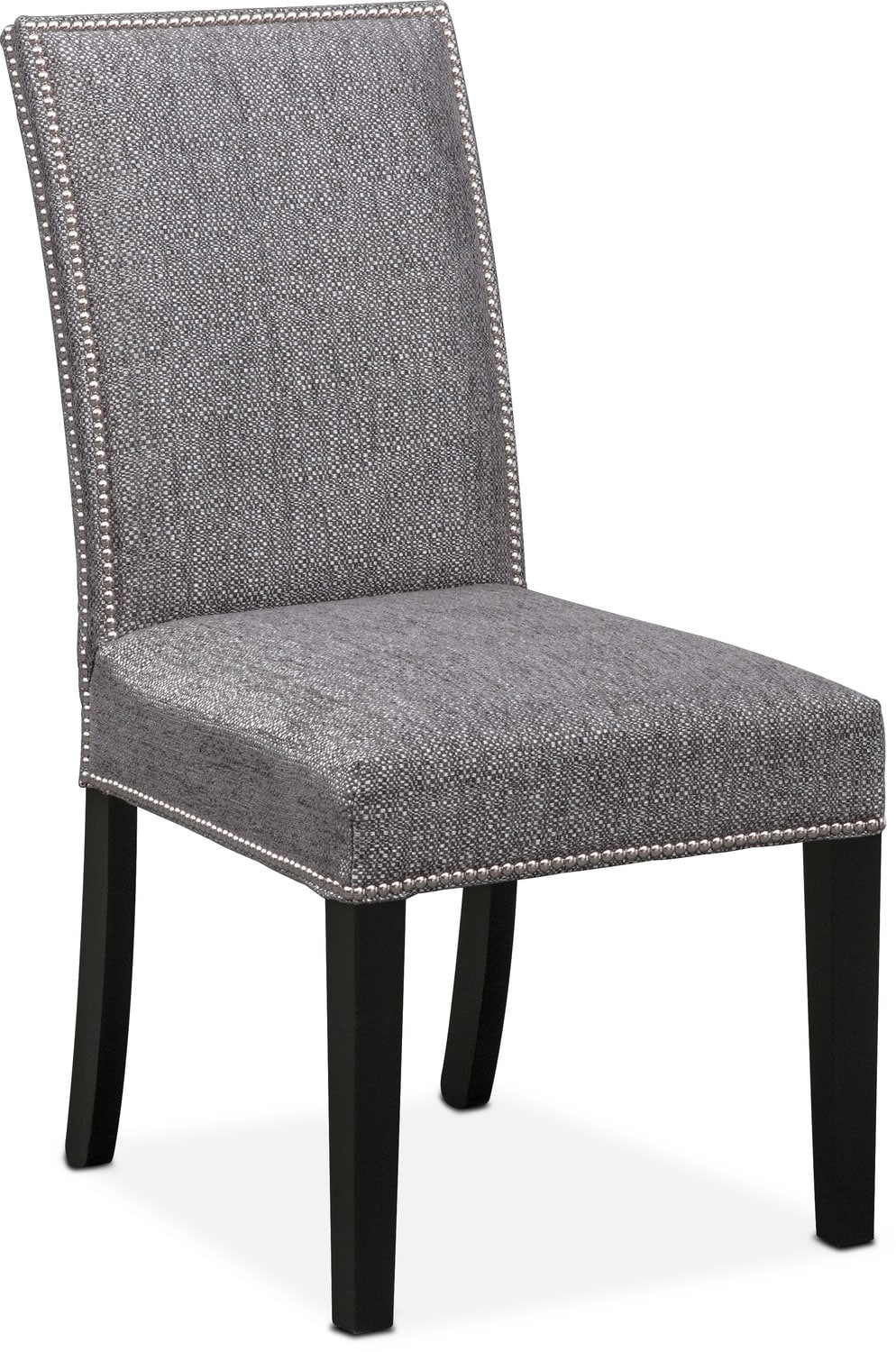Dining Room Furniture - Irvine Side Chair - Graphite