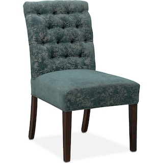 Tinsley Side Chair - Peacock