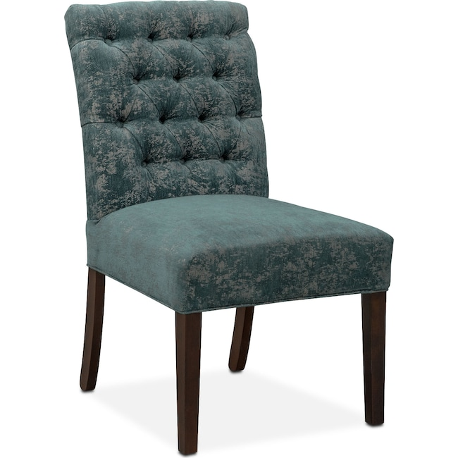 Dining Room Furniture - Tinsley Side Chair - Peacock