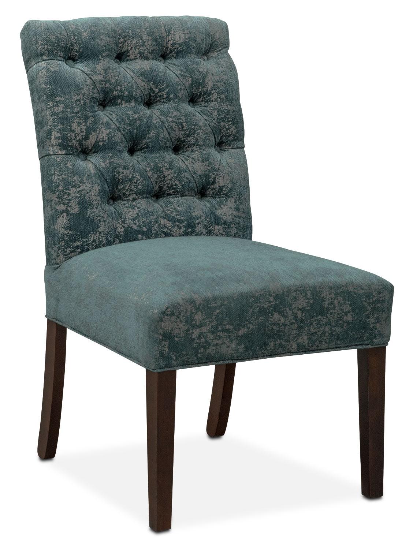 Tinsley Side Chair   Peacock
