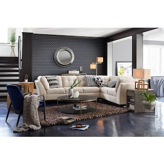 The Sebring Sectional Collection - Oyster