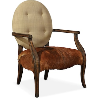 Lodge Arm Chair - Tan