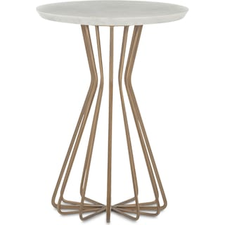 Perimeter Side Table - Brass