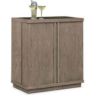Gavin Wine Cabinet - Graystone