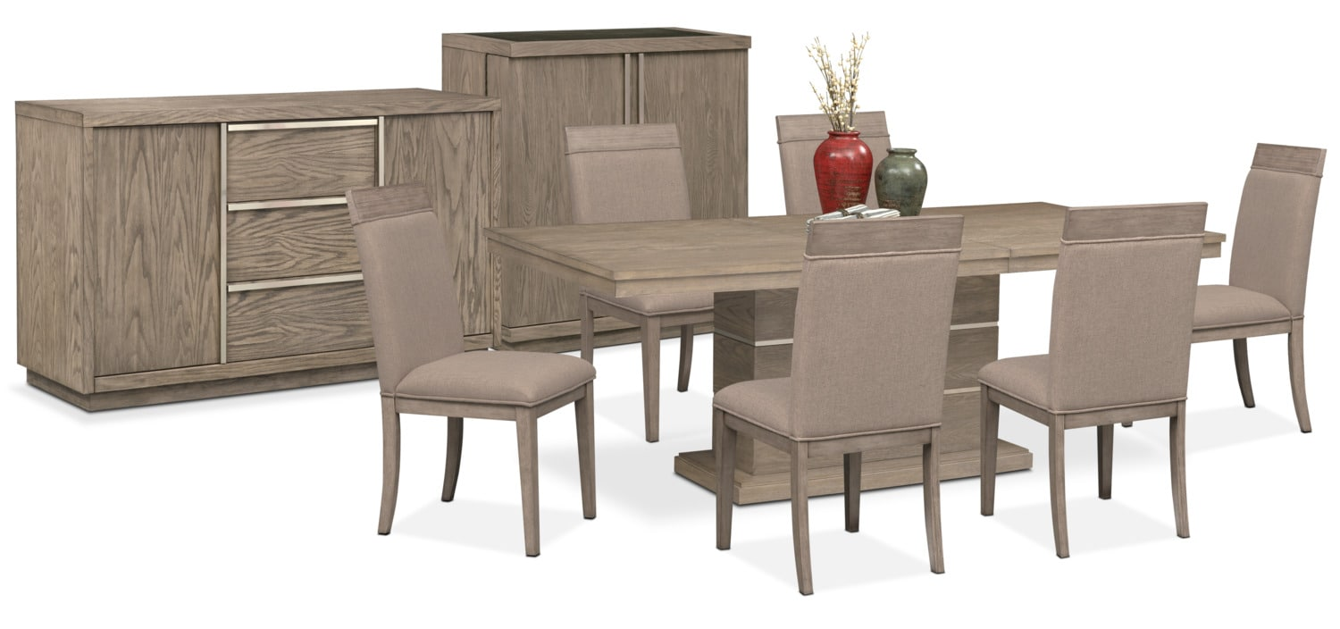 The Gavin Dining Collection - Graystone