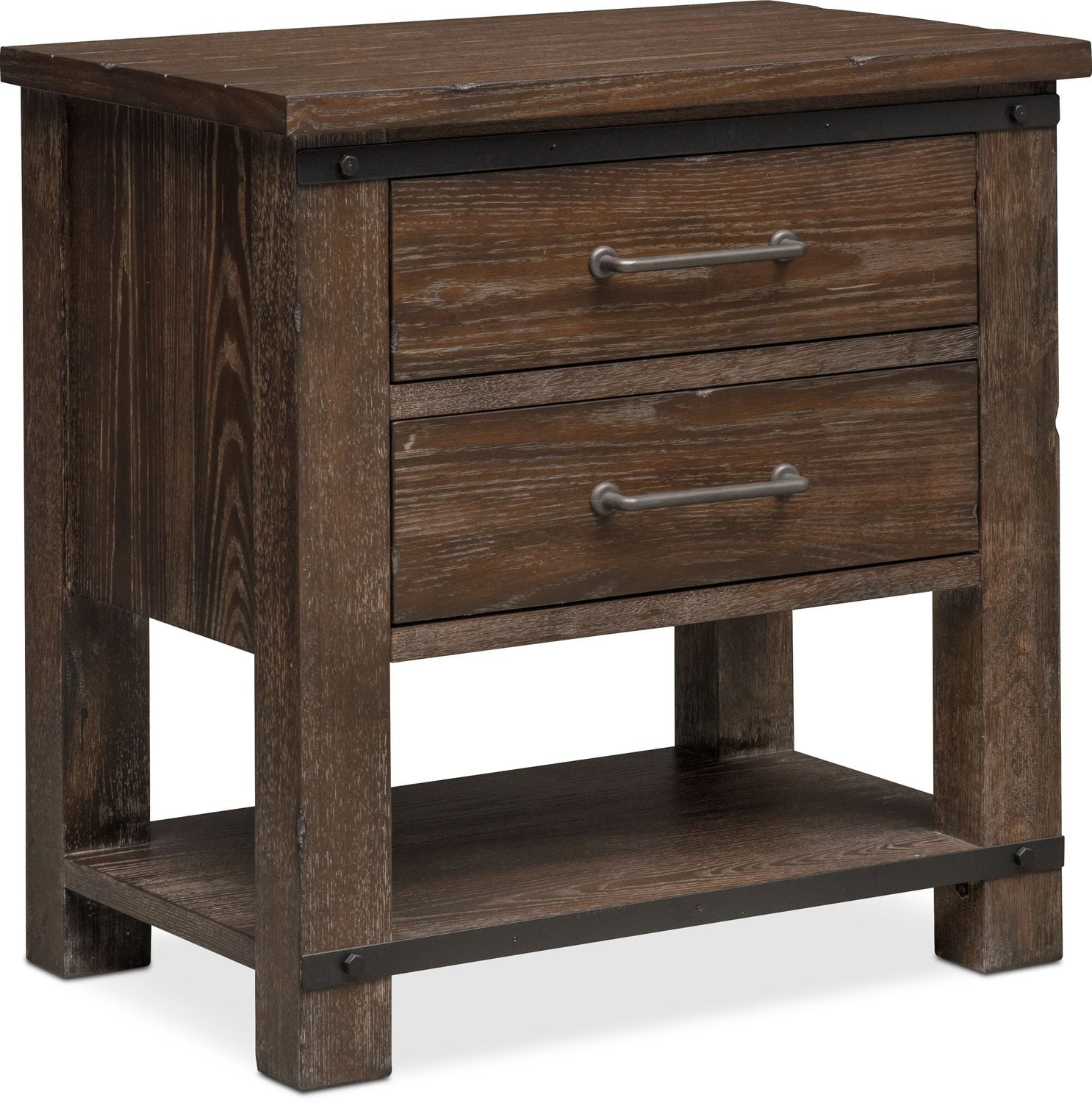 founders mill nightstand cocoa