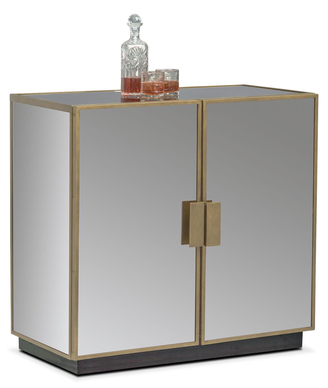 Miro Hospitality Cabinet   Brass