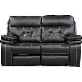 Brisco Loveseat - Black